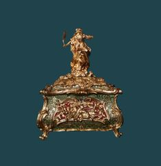Rococo reliquary of Saint Thecla by Anonymous from Poland (Makary Sztyftowski?), mid-18th century, Museum of Sacral Art in Zamość. © Marcin Latka #18thcentury #zamosc #artinpl #sacralart #rococo #reliquary #saintthecla #poland #makarysztyftowski Rococo, 18th Century, Saints, Museum, Anonymous, Poland, Art, Art Background, Kunst