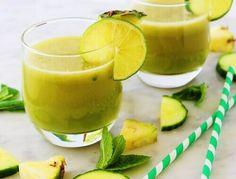 Vihreä omenasmoothie
