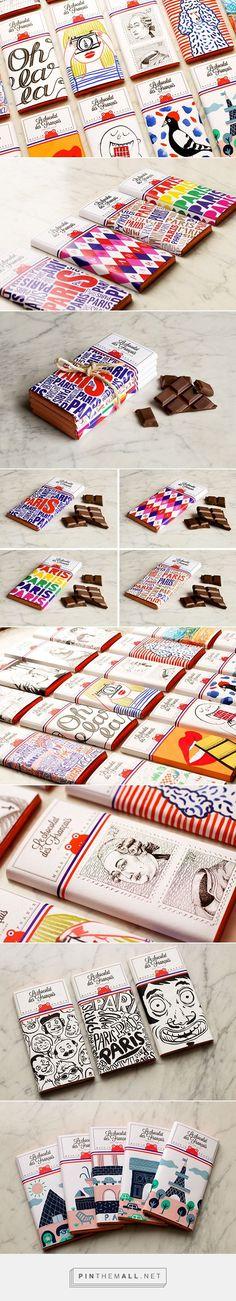 Le chocolat des Français Packaging Design