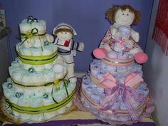 O bolo de fralda para chá de bebe fica lindo e pode ser um item essencial na decoração.   Estarei colocando vídeos de como se faz e alguma...