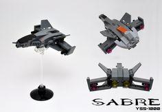 MOC-ABC Halo Sabre Space Plane | by Si-MOCs