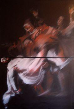 Caravaggio series 240X120 cm - oil on canvas