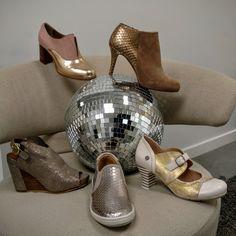 #metallic #partyshoes #readytoparty #ateliercontent #maisonaugiste #goldbutton #yukoimanishi