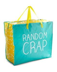 Random Crap Tote Bag | www.ShopTheShoppingBag.com Ships Worldwide!