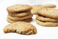 Småkaka med kondenserad mjölk Nutella Bar, Grandma Cookies, Bun Recipe, Cookie Box, Fika, Something Sweet, Parfait, Cookie Recipes, Desserts