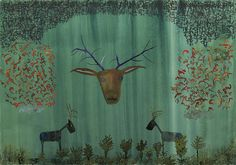 John Lurie - Antlers. http://www.johnlurieart.com
