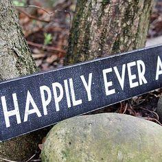 """""""E viverão felizes para sempre"""" (para colocar à saída...)"""