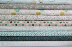 Littlest Boys Cotton Fabric Fat Quarter Quilt by TheFabricFoxUK, £25.00