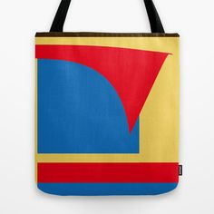 Superman Abstract Tote Bag by StevenARTify - $22.00