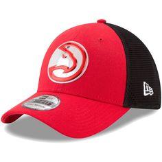 detailed look 42496 24baa New Era Men s Atlanta Hawks On-Court Stretch Fit Hat, Size  Medium Large,  Team