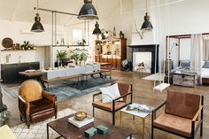 "Such a great Inspiration this is. Found These beautiful Pictures via ""The Loft."" The Loft is a periodically recurring co. House Design, Loft Living, Home, Luxury Loft, Interior Spaces, Living Spaces, Interior Styling, Eclectic Interior Style, Interior Design"