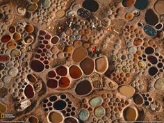 Saltwater pools, Niger