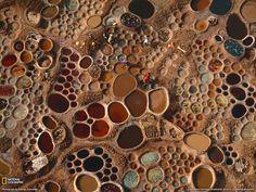 Saltwater pools, Niger