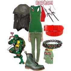 """TMNT - Raphael"" by doryishness on Polyvore"