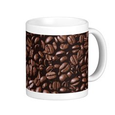 Cool Brown delicious Coffee beans Coffee Mugs