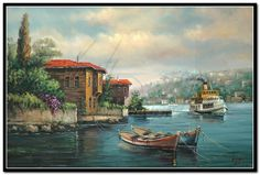 yağlı boya tabloları manzara - Google'da Ara Acrylic Painting Canvas, Painting On Wood, Watercolor Paintings, Decoupage, Z Arts, Art Studies, Art Oil, Amazing Art, Istanbul