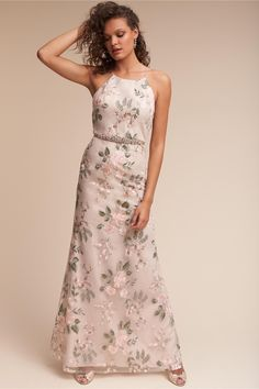 BHLDN's Jenny Yoo Claire Dress in Blush Sand Dune