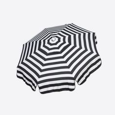 Timeless black and white stripe Italian Acrylic 6-foot Umbrella. Taking in the sun on the Amalfi coast is to some a dream come true, and you‰۪ll feel like you are in Italy when you open up this shade