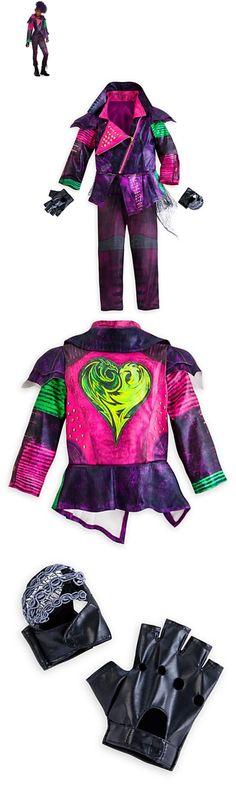 Girls 80914: Disney Store Descendants Mal Costume 7 8 13 Halloween Jacket Gloves Pants -> BUY IT NOW ONLY: $44.95 on eBay!