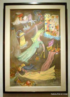 Clelia Ríos. #arte #art #pasionporelarte #exposicioncolectiva #galeriartenlinea #gael #pintura #painting #acuarela #watercolor #color #escultura #sculpture #grafica #graphic #dibujo #drawing #photo #fotografia  #artemexico #mexicanart #arteenmexico #latinamericanart #artistasplasticos #plasticartists