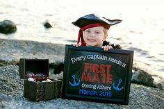 Custom Printable Big Brother Announcement // Pregnancy Reveal // Captain // Boat Captain // New Big Brother // Pregnancy Announcement by ChalkingItUpBoards on Etsy https://www.etsy.com/listing/188762965/custom-printable-big-brother