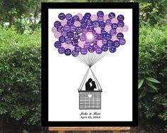 Hochzeit Gästebuch Alternative Hochzeit Gästebuch von BrilliantIdea