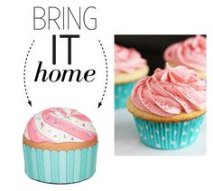 """""""Bring It Home: Cupcake Pouf"""" by polyvore-editorial ❤ liked on Polyvore featuring interior, interiors, interior design, home, home decor, interior decorating, Woouf! and bringithome"""