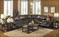 Couch Sectionals with Recliners