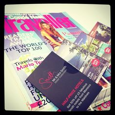 Have you seen us on the cover of #condenast Traveller?