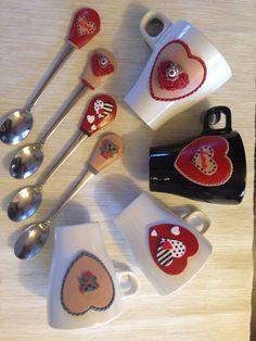 Valentines mug&spoon