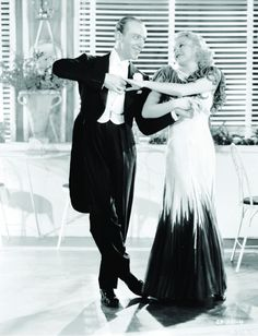 1934: Ginger Rogers and Fred Astaire in The Gay Divorcee