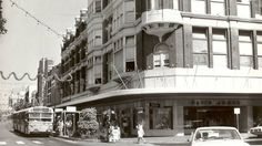 David Jones in Hunter Street in 1976, before the mall