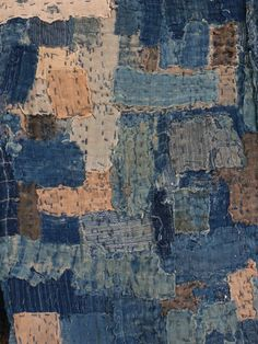 Sri is a textile gallery in Brooklyn, New York, USA, specializing in antique Japanese folk textiles, highlighting the indigo-dyed cotton utilitarian fabrics and boro--or patched and mended--textiles of old Japan.
