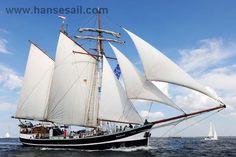 """Tall Ship """"Banjaard"""" at Hanse Sail Rostock"""