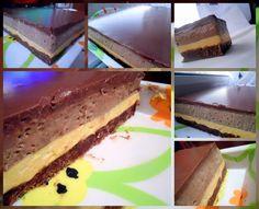 bavarois orange chocolat