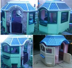 10 Little Tikes Makeovers Ideas Play Houses Makeover