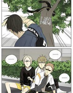 XD this scene was hilarious! Manhwa, Manga Cute, Cute Anime Guys, Manga Anime, Citrus Manga, 19 Days Manga Español, Yoonmin Fanart, Black Butler Anime, Cute Gay Couples