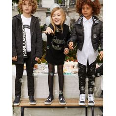 Karl Lagerfeld FW 19/20 Karl Lagerfeld Kids, Winter Jackets, Punk, Style, Fashion, Winter Coats, Swag, Moda, Winter Vest Outfits