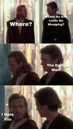 52 Of Today's Freshest Pics And Memes Star Wars Clones, Star Wars Clone Wars, Star Wars Rebels, Star Wars Art, Star Trek, Images Star Wars, Star Wars Pictures, Prequel Memes, Funny Memes