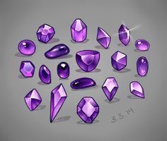 Jewels study by MariaCalavera on DeviantArt