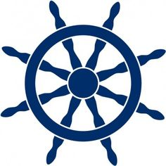 Ship Steering Wheel Helm Sea Wall Stickers Wall Art Decal - At the Beach - People & Places