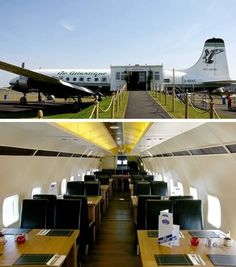 Airline food is under rated! Airplane restaurant in England... and other exotic restaurants