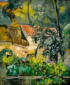 Paul Cézanne - House of Pere Lacroix, 1873