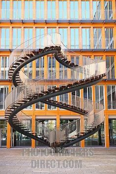 Staircase in Munich