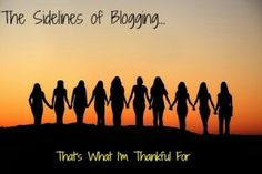The Sidelines of Blogging