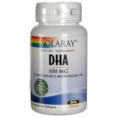 DHA Neuromins de Solaray es un complemento nutricional que apoya la función cerebral y la visión. Con un 15% de descuento!