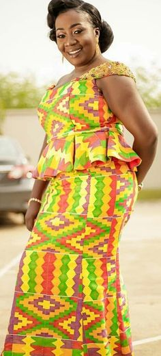 Ghanaian Fashion Kaba And Slit