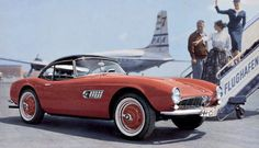 BMW 507 from the good old times of car engineering #car #dreamcar #oldtimer
