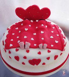 Torta Addio al Nubilato Love Cake
