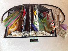Bag Quilters Organizer Bag Tutorial PDF por QuiltessaNatalie